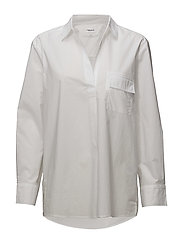Relaxed Shirt - WHITE