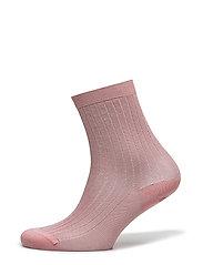 Lurex Rib Sock