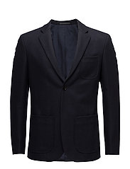 M. Rick Wool Jacket - NAVY