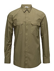 M. Peter Utility Shirt - OLIVE