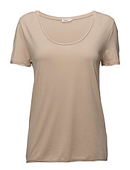 Scoop Neck Tee - DUNE