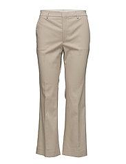 Hudson Cotton Cropped Trousers - HEMP