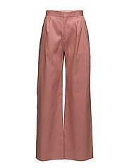 Katie Pleated Trousers - SALMON