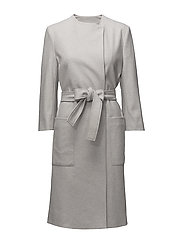 Blair Belt Coat - MINERAL