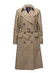 Mason Trench Coat - BAMBOO/STA