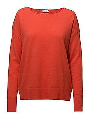 Relaxed Cashmere Sweater - POPPY