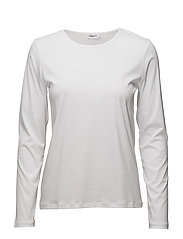 Mercerized Cotton Long Sleeve - WHITE