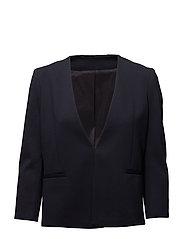 Elie Jersey Jacket - NAVY