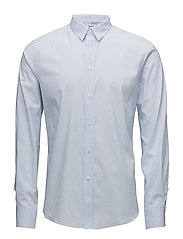 M. Pierre Stretch Shirt - LT. BLUE S