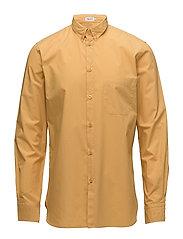 M. Peter Washed Poplin Shirt - HONEY