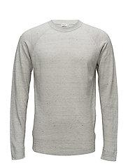 M. Linen Sweater - LIGHT GREY