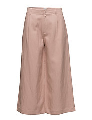 Max Cropped Wide Trousers - PETAL