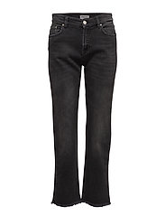 Alex Washed out Black Denim - GREY WASH