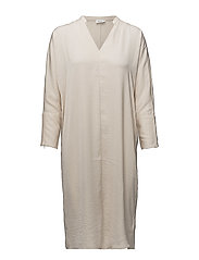 Drapey Tunic Dress - BONE