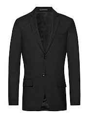 M. Rick Cool Wool Jacket - BLACK