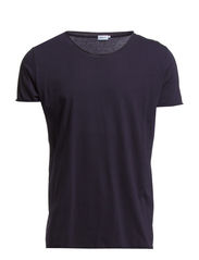 M. Lt. Single Jersey Roll Edge Tee - Navy