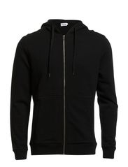 M. Cotton Hood Jacket - Black