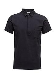 M. Soft Lycra S/S Poloshirt - NAVY