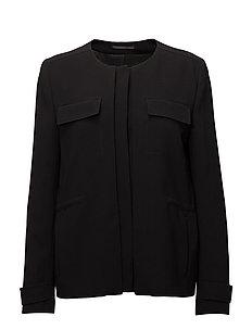 Harper Utility Jacket - BLACK