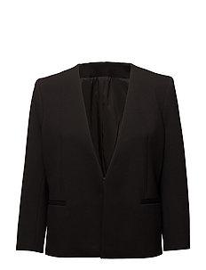 Elie Jersey Jacket - BLACK