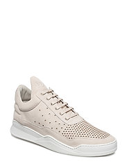 Low Top Ghost Gradient perforated - OFF WHITE