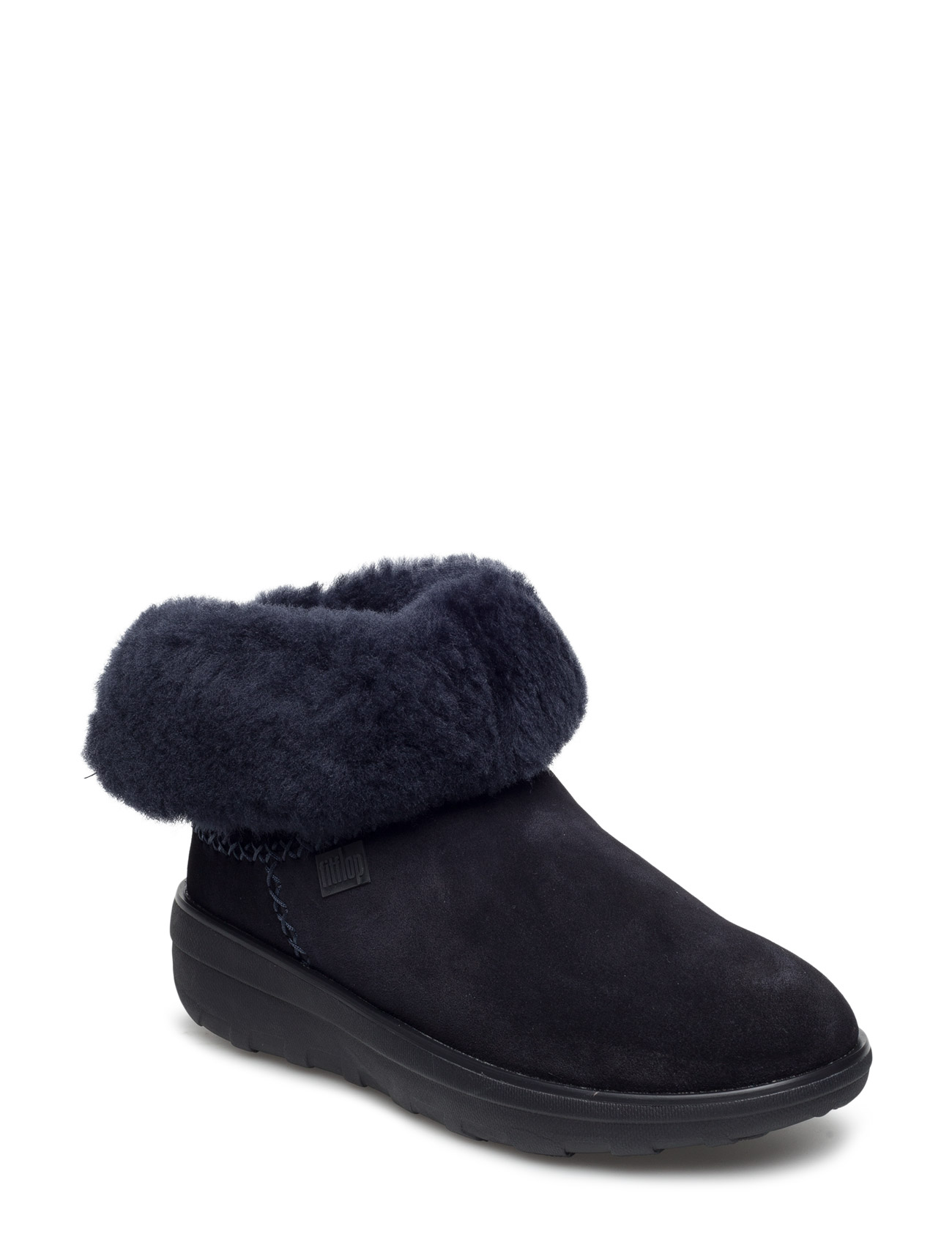 Supercush Mukloaff Shorty FitFlop Støvler til Damer i kastanje
