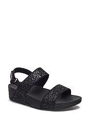 Glitterball Sandal - BLACK