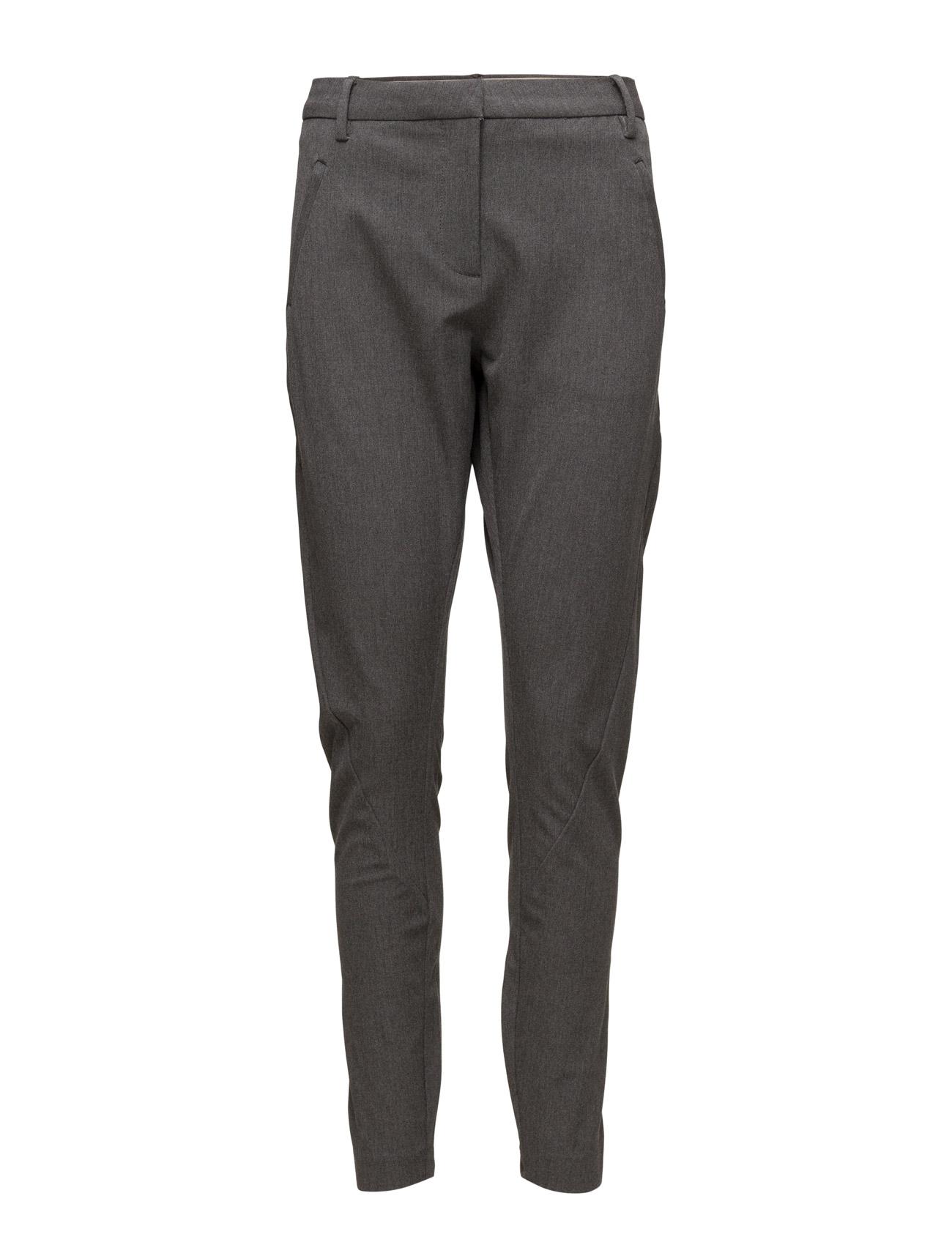 Angelie 315 Grey Melange, Pants FIVEUNITS Bukser til Damer i Grey Melange
