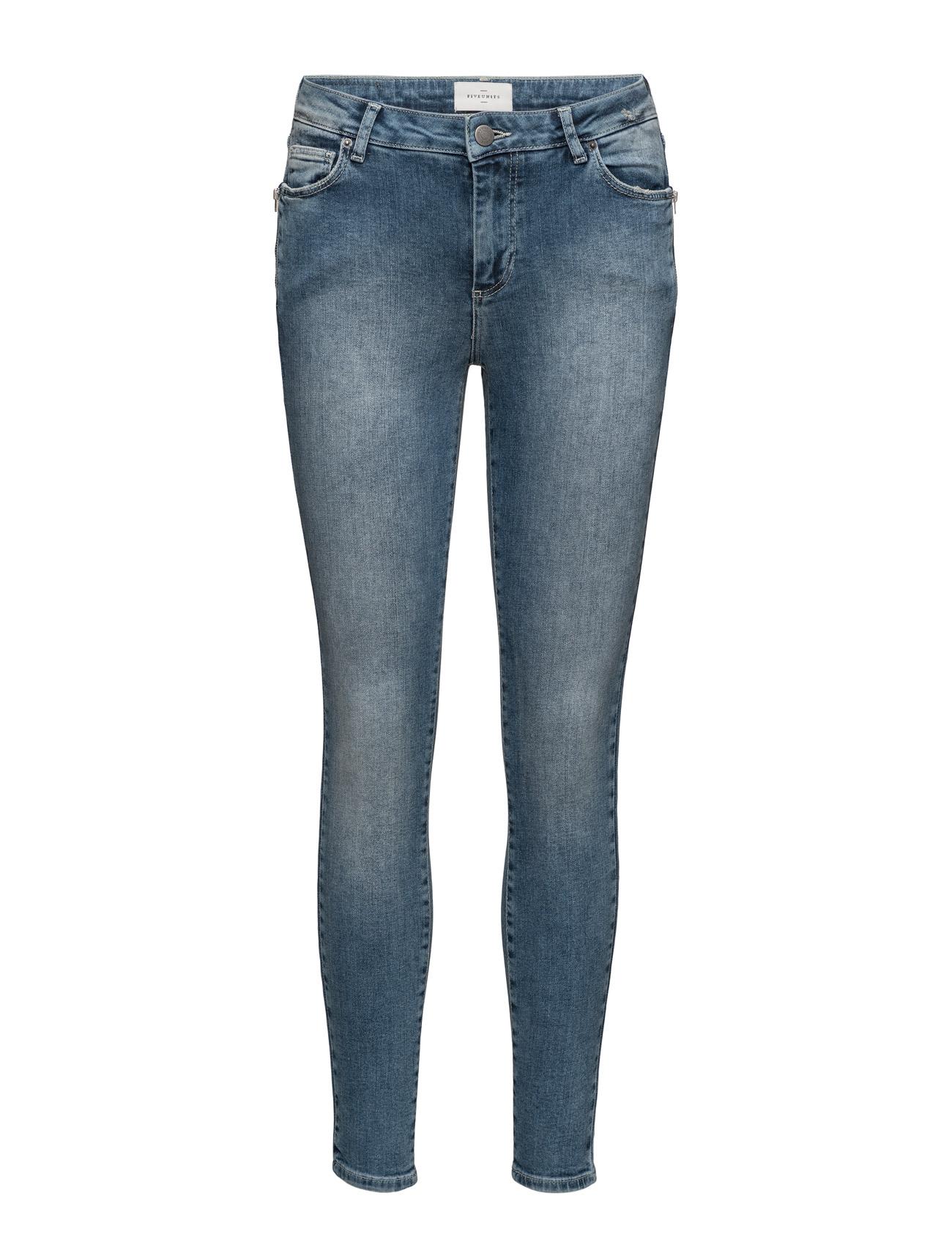 Penelope 436 Zip, Insight Worn, Jeans FIVEUNITS Skinny til Damer i