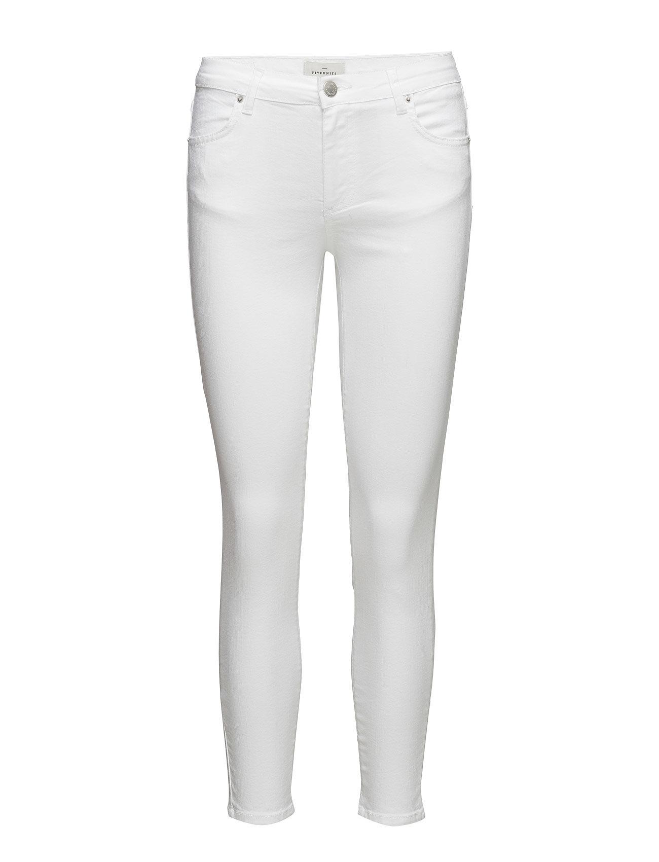 Penelope 155 Split, White, Jeans FIVEUNITS Skinny