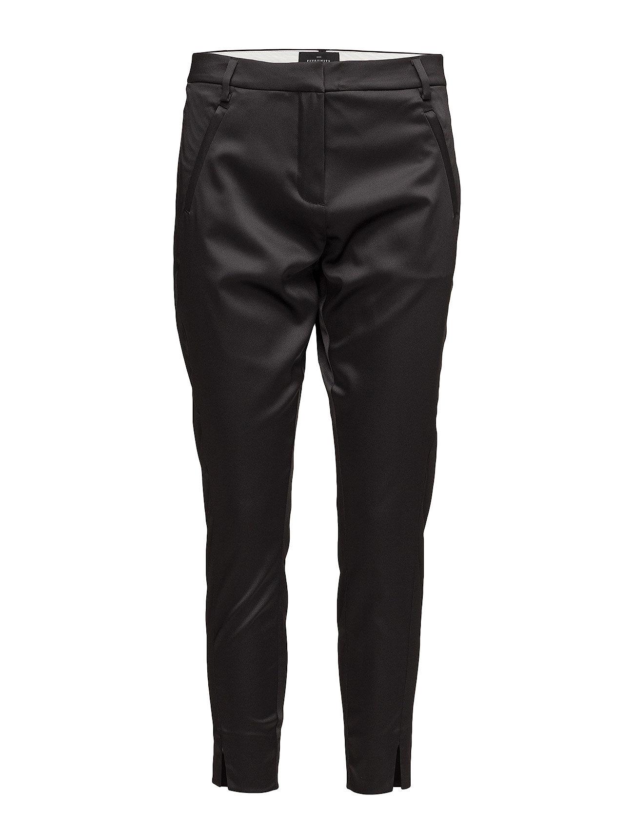 Angelie 696 Split, Black Shine, Pants