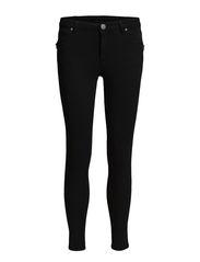 Penelope Zip 266 Black Line, Jeans - Black Line