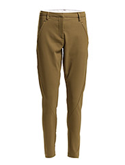 Angelie 238 Mud Green, Pants - Mud Green