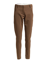 Angelie 238 Mocha, Pants - Mocha