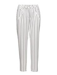 Sanna 391 Stripe Chillax, Pants - STRIPE CHILLAX
