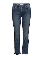 Vanessa 925 Crop, Stone Indigo, Jeans - STONE INDIGO