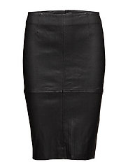 Claire 634 Stretch Leather, Skirt - STRETCH LEATHER