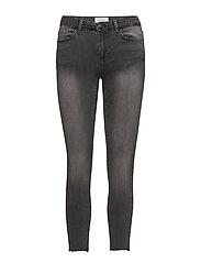 Kate 216 Cross, Detroit Grey, Jeans - DETROIT GREY