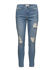 Kate 664 Atlanta Light Blue Ripped, Jeans - ATLANTA LIGHT BLUE RIPPED
