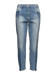 Cloé 227 Crop Prime, Scandi Blue, Jeans - SCANDI BLUE