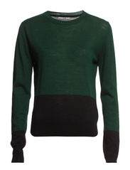 Jenna Sweater - Black/Racing Green