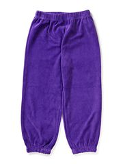 KYS Velour Pants - Purple