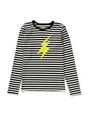 PER t-shirt - BW stripes
