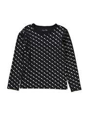DEJLIG t-shirt - Black star