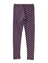 YES leggins - Purple M star