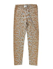 YES leggins - Leopard gold