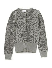 HAPPY cardigan - Leopard glitter