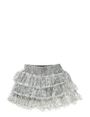 ELSEBETH sequin skirt - Silver