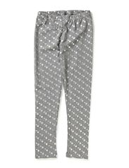 YES leggins - Light grey star