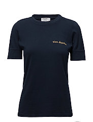 EXTENDED CUFF TEE - NAVY